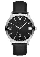 Emporio Armani AR11210 Dress Men's Watch Black 44mm Stainless Steel