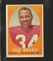 8190* 1958 Topps # 93 Joe Perry EX
