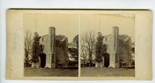 Thetford Abbey Gate Suffolk Norfolk Old Stereo View Photo