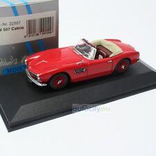 MINICHAMPS BMW 507 CABRIO ROT BNR022507