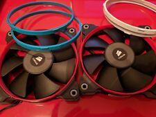 2x Corsair SP120 Quiet Edition (High Pressure) Fans