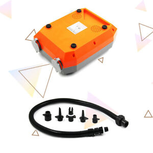 12V 20PSI Inflatable Air Pump High Pressure Dual Stage For Outdoor Paddle Board