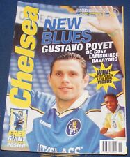 CHELSEA - THE OFFICIAL MAGAZINE JULY 1997 - GUSTAVO POYET