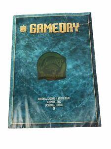 NFL Jacksonville Jaguars vs Houston Oilers Inaugural Game Program 1995