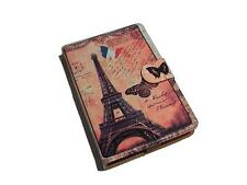 Eiffel & Pisa Pattern PU Flip Travel Carry Case Book Cover for Google Nexus 7 UK
