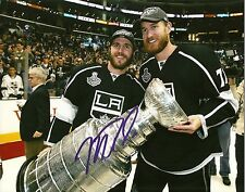 Mike Richards Hand Signed Stanley Cup 8x10 Photo LA Kings NHL