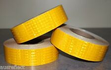 Avery T-6501 Series HIP Reflective Tape (Adhesive) - YELLOW FULL ROLL 45m