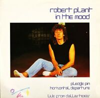 "ROBERT PLANT (OF LED ZEPPELIN) in the mood B6970T uk wea 1983 12"" PS EX/EX"