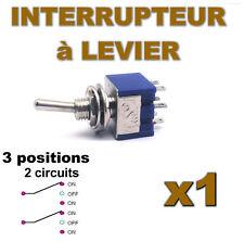937/1# Interrupteur à levier 3 positions 2contacts 1 pc