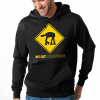 AT-AT Crossing Fun Star Wars Satire Parodie Comedy Spaß Kapuzenpullover Hoodie