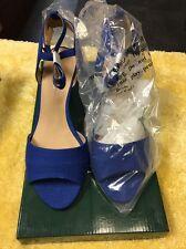Jeffrey Banks 233409 Blue / Silver 8W Heel Womens Shoe