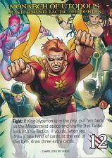 KING HYPERION Upper Deck Marvel Legendary MASTERMIND TACTIC MONARCH OF UTOPOLIS