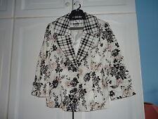 New SIMON JEFFERY cotton jacket size 16 (EU42)