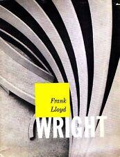 FRANK LLOYD WRIGHT Master architect