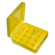 Hard Portable Light Plastic Box Case For 4 x 18650 Battery Holder Storage Box