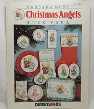 Christmas Angels Stocking Cross Stitch Pattern Chart Dimensions 147 Barbara Mock