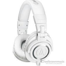 Audio-Technica ATH-M50X Professional Monitor Headphones - White