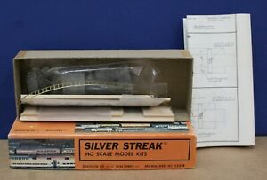 Silver Streak 130 HO Santa Fe Baggage caboose Craftsman Kit NIB Complete 1979