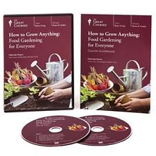 How to Grow Anything : Food Gardening for Everyone~ DVD and Book (New Set)