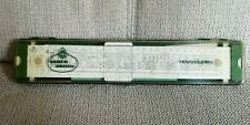 FABER-CASTELL 2/83 NOVO DUPLEX Slide Rule, Ruler *Made in Germany