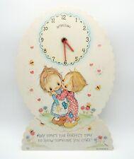 "Vintage 1972 Betsey Clark doll Hallmark Picco Japan Melamine Wall Clock Works14"""