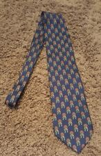 RARE Vintage *GUCCI* Horseshoe Tie Necktie Paolo Gucci Made in Italy 100% Silk