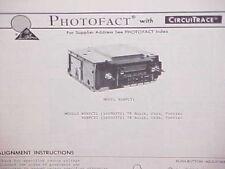 1978 GM BUICK OLDSMOBILE PONTIAC 8-TRACK TAPE PLAYER/AM-FM RADIO SERVICE MANUAL