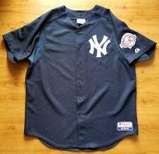 New York Yankees MAJESTIC MLB Jersey 100TH Anniversary Patch XL