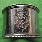 c1930 Original Emmigrant Ship ANCHOR LINE plated Napkin Ring No 13