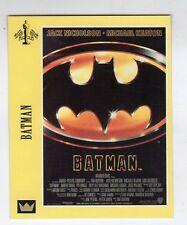 Figurina SUPERCINEMA EVENTS MAXI CARDS NUMERO 93 BATMAN