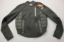 NIKE Womens Black Tech Fleece 800 Fill Down Aeroloft Moto Jacket NWT XS $250