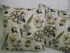 "BOTANIQUE BY SUZANNE TUCKER 1 PAIR OF 18"" CUSHION COVERS"