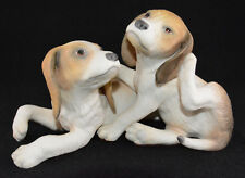 "Cybis Beagle Puppy's Dog's Clancey & Brannigan (6""Tall-"" Long)"