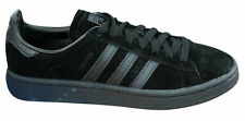 Adidas Originals Campus Mens Trainers Lace Up Shoes Leather Black BZ0079 Y25A