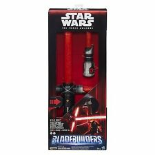 NEW IN BOX! Star Wars The Force Awakens Kylo Ren Deluxe Electronic Lightsaber