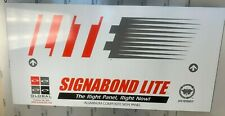 Aluminum Composite Panel Signabond LITE, 6mm (1/4 inch), 2ft x 4ft, New Drop
