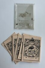 Vintage Evergreen Press Gummed Bookplates Ex Libris Set of 50 Plates USA