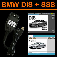 BMW USB OBD Diagnostic cable INPA Ediabas BMW DIS v57 SSS v32 GT1