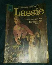 M-G-M's LASSIE #55 Dell Photo Cover TV Comic 1961 g