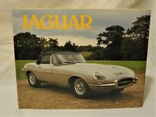 Jaguar RARE Coffee Table hardcover book Cars photograph collectible/Exeter 1983