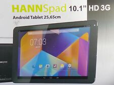 "HANNSpad IPS 10.1"" HD 3G Quad-Core GPS Dual Camera 8GB Dual SIM Super Slim OVP"