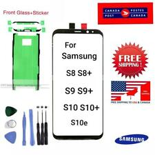 Front Screen Glass Replacement for Samsung Galaxy S8 S9 S10 S10e S10+ with Tools