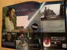 STAR WARS Die letzten Jedi Pressenotiz  +Extras KRIEG DER STERNE / NO Presseheft