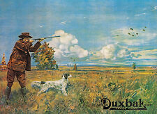 UTICA DUXBAK HUNTING ADVERTISING POSTER