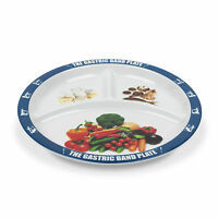2 PACK World Slimming Gastric Band Plate Diet Divided Portion Control Plate
