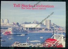 The Delta Queen Tall Stacks Celebration, Cincinnati, OH (SH#1)#775 not mailed*15