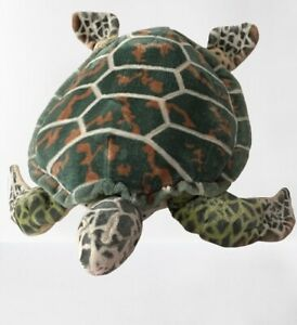"Melissa & Doug Large 30"" Plush Sea Turtle Tortoise  Stuffed Pillow Animal"
