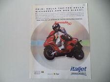 advertising Pubblicità 1995 ITALJET FORMULA 50