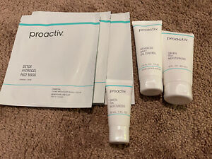 proactiv LOT advanced daily Oil control, green tea Moisturizer, detox Face mask