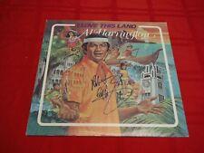 Al Harrington I Love This Land LP Autographed Hawaii Exotica Space Age Pop Tiki